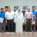 Technical training for students of Kuwait Technical College